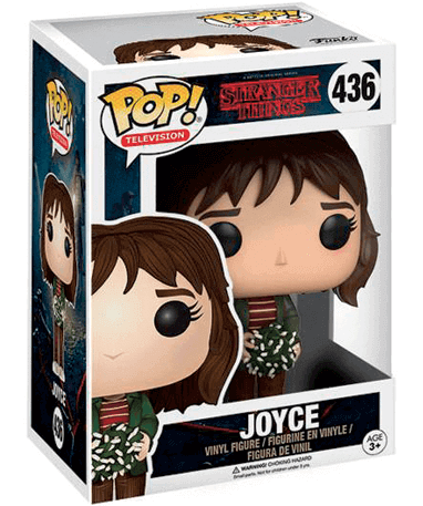 Joyce Byers figur – Stranger things – Funko Pop - i kasse