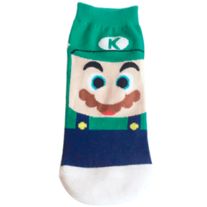 Luigi - Ankelsokker - Super Mario