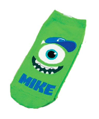 Mike Wazowski ankelsokker - Monsters Inc