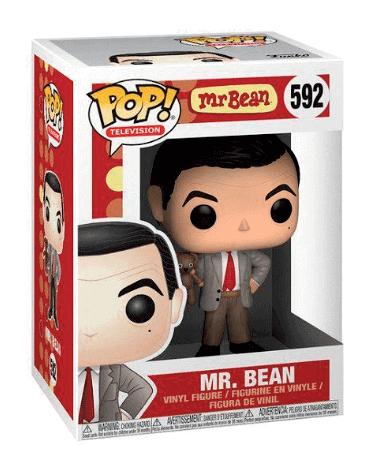 Mr. Bean figur - Funko Pop - i kasse
