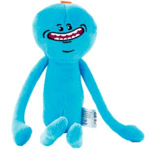 Baseret på karakteren: Morty Størrelse: 17 cm Officielt licenseret af: Rick & Morty Materiale: Plush Fyld: Bomuld
