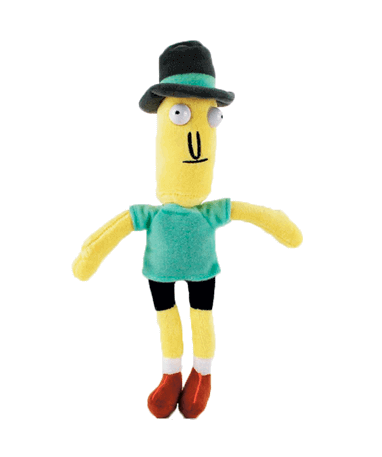 Mr. Poopybutthole bamse - Rick And Morty