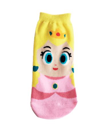 Prinsesse Peach - Ankelsokker - Super Mario
