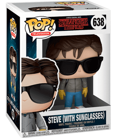 Steve Harrington figur - Stranger things - Funko Pop - i kasse