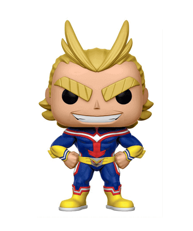 Image of   All might figur (svækket) - My Hero Academia - Funko Pop