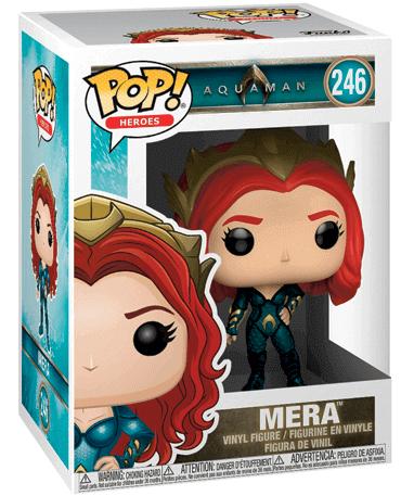 Aquaman - Mera Funko pop figur 2018 - i kasse