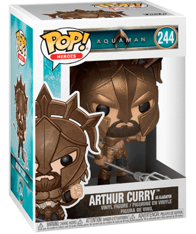 Arthur Curry as Gladiator Funko pop figur - Aquaman 2018 - I kasse