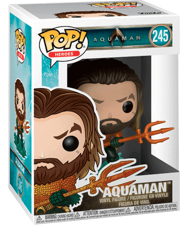 Arthur-Curry-in-Hero-Suit-Funko-pop-figur-Aquaman-2018 - i kassen