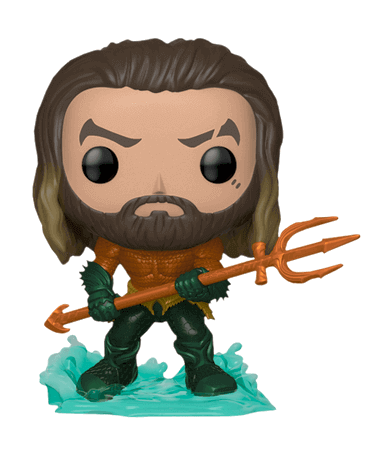 Image of   Arthur Curry in Hero Suit Funko pop figur - Aquaman