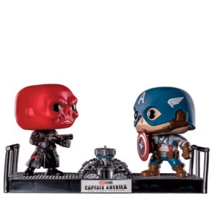 Captain America & Red Skull - Funko Pop - Movie Moments