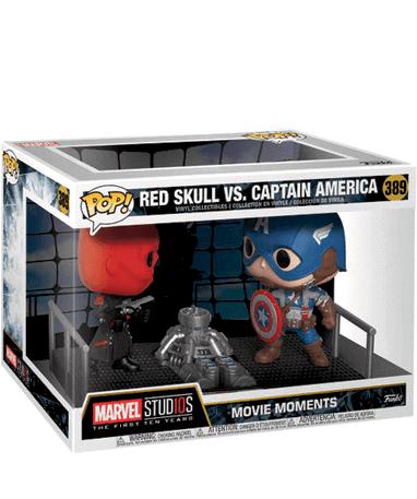 Captain America & Red Skull - Funko Pop - Movie Moments - i kasse