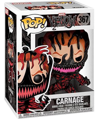 Carnage Cletus Funko pop figur – Marvel - I kasse