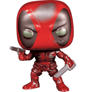 Deadpool funko pop figur first appereance