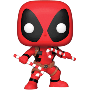 Deadpool med julestok - Funko pop - Marvel 2018