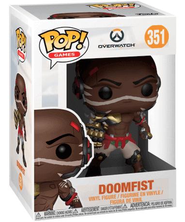 Doomfist Funko Pop Figur – Overwatch - I kasse