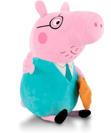 Far Gris bamse 30 cm - Gurli gris - venstre
