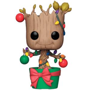 Groot med lys og dekorationer Funko Pop Figur 2018