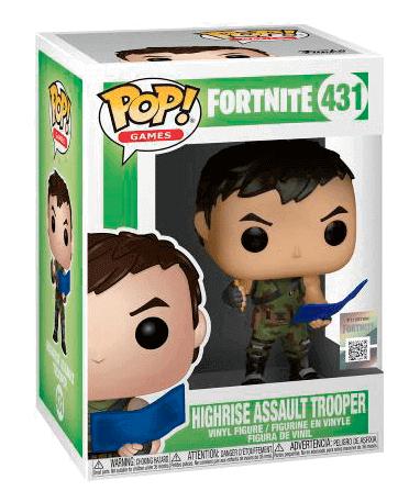 High Rise Assault Trooper Funko Pop Figur - Fortnite - i kasse