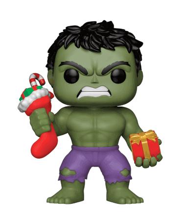 Hulk med julesok og gave Funko Pop Figur 2018