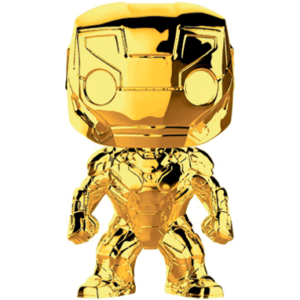 Iron Man Chrome Funko Pop Figur – Marvel