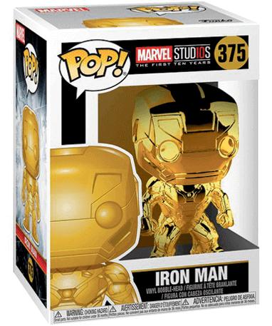 Iron Man Chrome Funko Pop Figur – Marvel - I Kasse