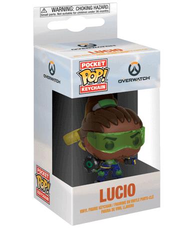 Lucio Nøglering Funko Pop Figur – Overwatch - I kasse