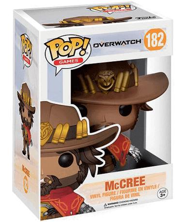 McCree Funko Pop Figur – Overwatch - i kasse
