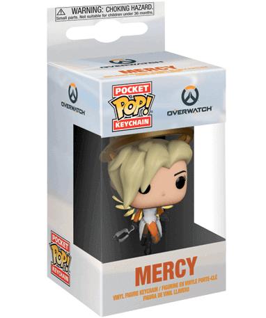 Mercy Nøglering Funko Pop Figur – Overwatch - I Kasse