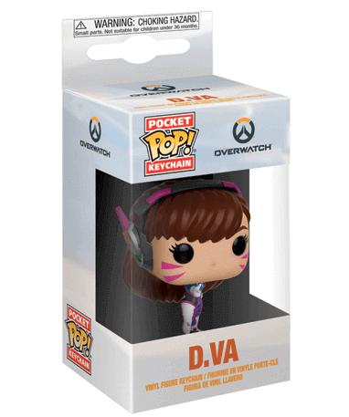 Nøglering Funko Pop Figur – Overwatch - I kasse