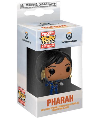 Pharah Nøglering Funko Pop Figur – Overwatch - i kasse
