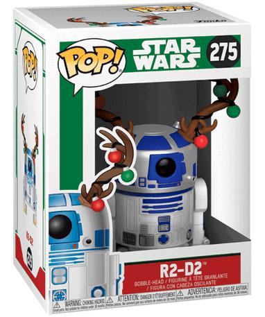 R2-D2 med gevir - Star Wars 2018 - i kasse