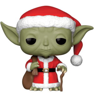 Santa Yoda - Funko pop figur - Star Wars