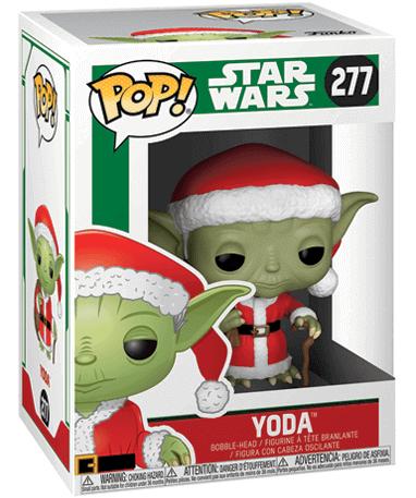 Santa Yoda - Funko pop figur - Star Wars - i kasse
