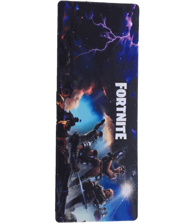 Stor Fortnite gamer musemåtte - 30x80cm