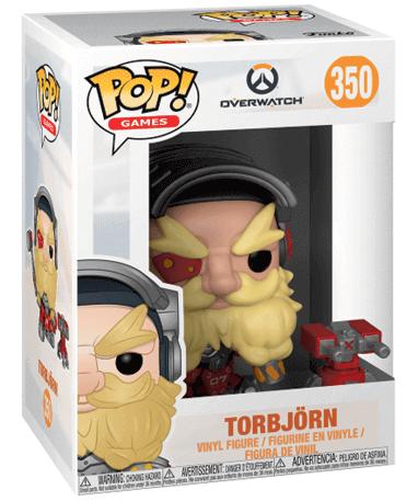 Torbjörn Funko Pop Figur – Overwatch - I Kasse