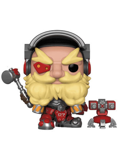 Torbjörn Funko Pop Figur – Overwatch
