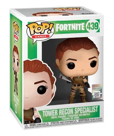 Tower Recon Specialist Funko Pop Figur - Fortnite - i kasse