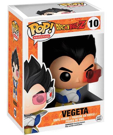 Vegeta figur - Funko pop - Dragon Ball Z - I kasse