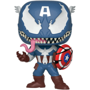 Venom – Captain America funko pop figur – Marvel