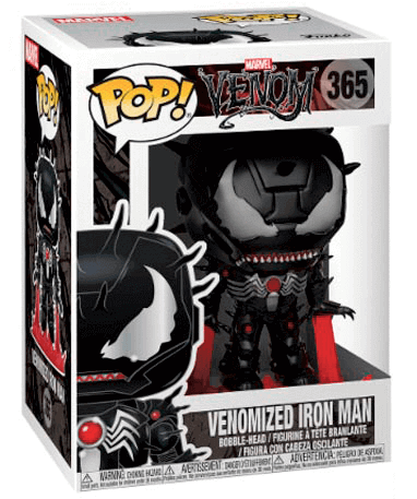 Venom – Iron Man funko pop figur – Marvel