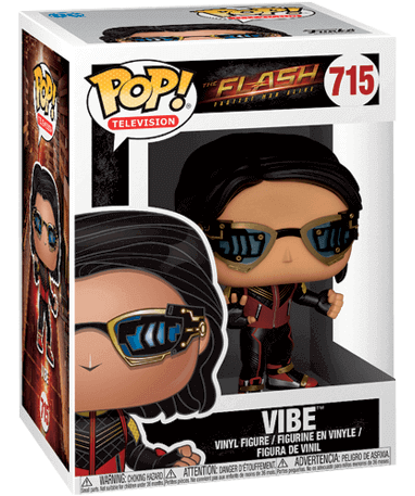 Vibe Funko Pop figur - The Flash tv 2018