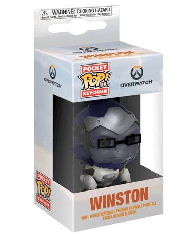 Winston Nøglering Funko Pop Figur – Overwatch - I Kasse