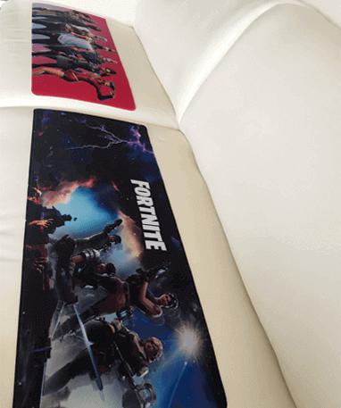 XXL Fortnite gamer musemåtter