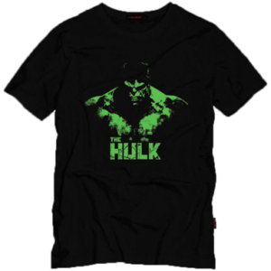 Hulk t-shirt sort - Marvel