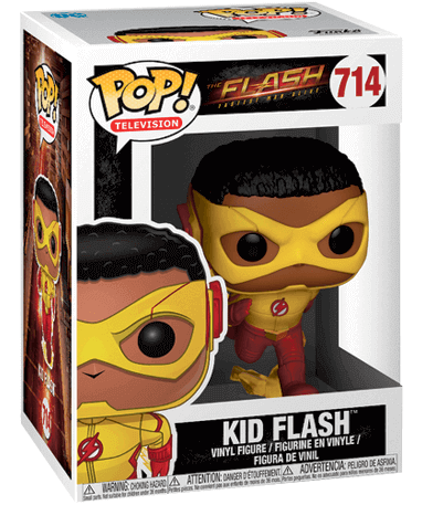 Kid Flash Funko Pop figur – The Flash TV - i kasse