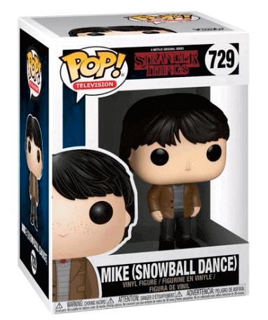 Mike Wheeler (Snowball Dance) Funko Pop Figur - i kasse