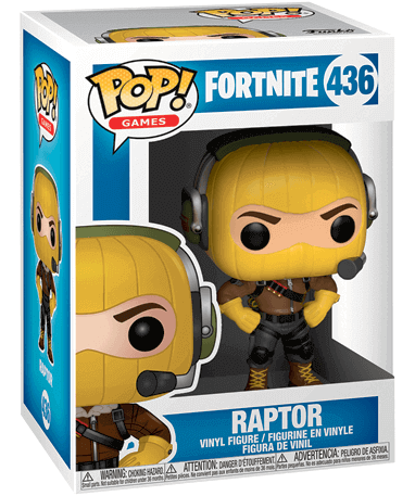 Raptor Funko Pop Figur - Fortnite - i kasse