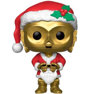 Santa C-3PO Funko Pop figur