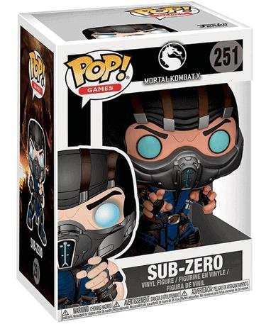 Sub Zero Funko Pop Figur - Mortal Kombat - I kasse