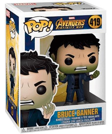 Bruce Banner Funko Pop Figur - Infinity War 1